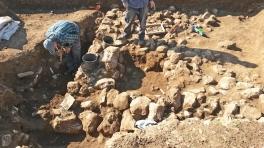Archeologische opgravingen van de 7000 jaar oude plaats. Foto: Israëlische Oudheidkundige Dienst