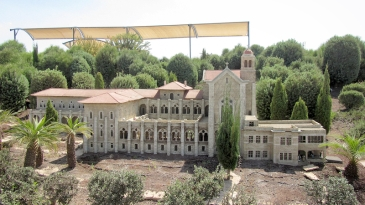 Latrun trappist monastery.
