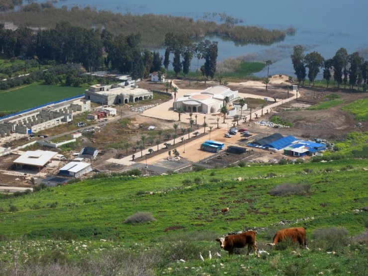 2.Magdala Center from Mt Arbel 3