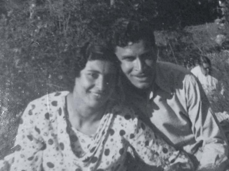 Huda en Elias Awad, de ouders van Bishara