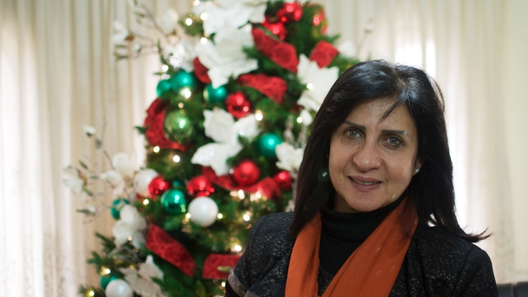 Vera Baboun - Mayor of Bethlehem