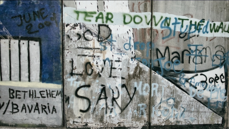 Bethlehem, separation wall