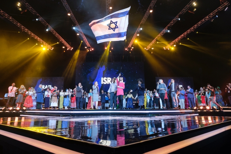 ICEJ Feast2017-Jerusalem Arena3