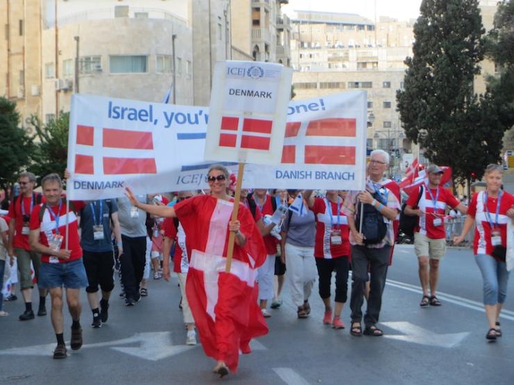 Jerusalem-marsj 10.10.2017 Danmark (V.N.)