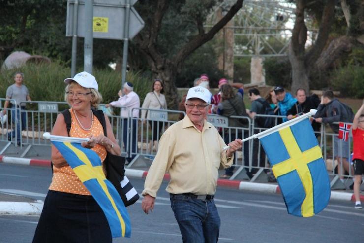 Jerusalem-marsj 10.10.2017 Sverige (H.N.)