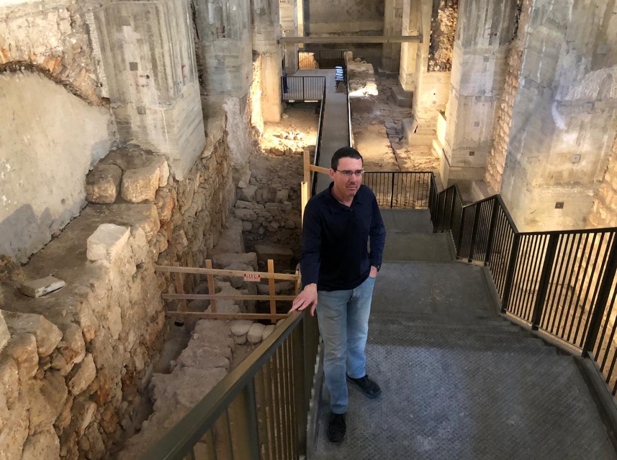 Grote belangstelling voor paleis Herodes onder protestanten