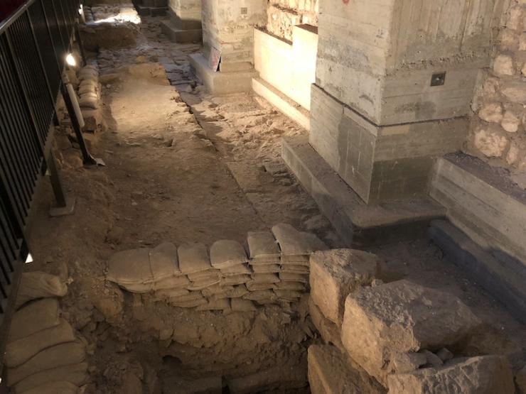 Het paleis van koning Herodes was hier gevestigd.