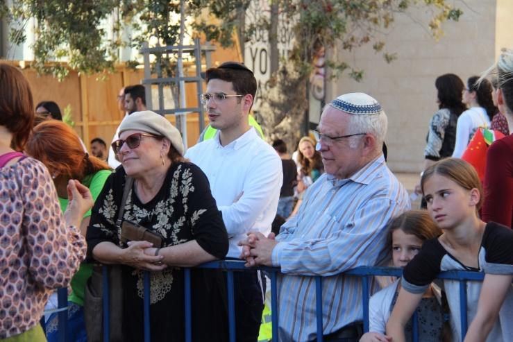 David og Sara Bedein, Jerusalem-marsj 27. 9.2018 løvhyttefest (Heljä Norberg 2 (1).jpg