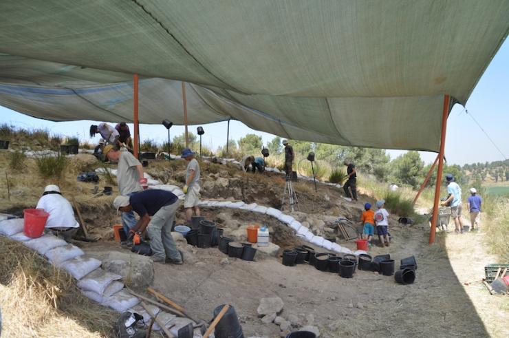 צילום-משלחת החפירות לחורבת אל-ראעי (40)