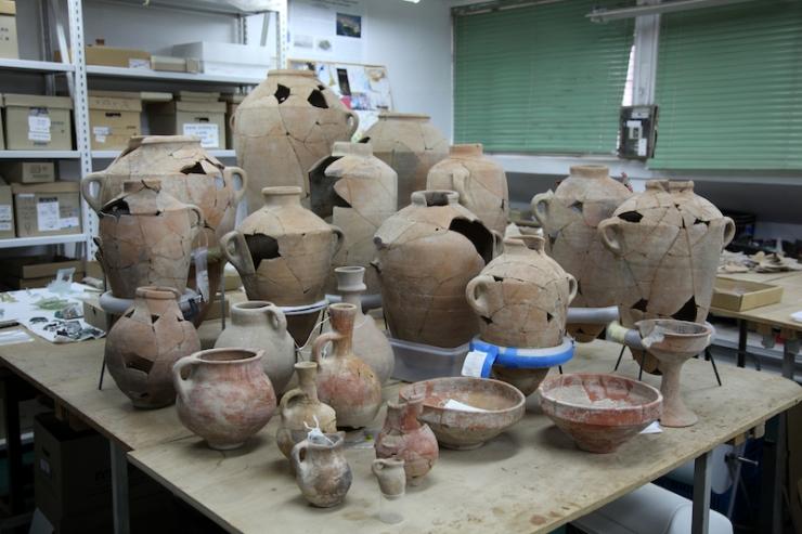 צילום-משלחת החפירות לחורבת אל-רעי (20)