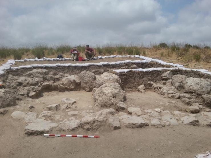 צילום-משלחת החפירות לחורבת אל-רעי (5)
