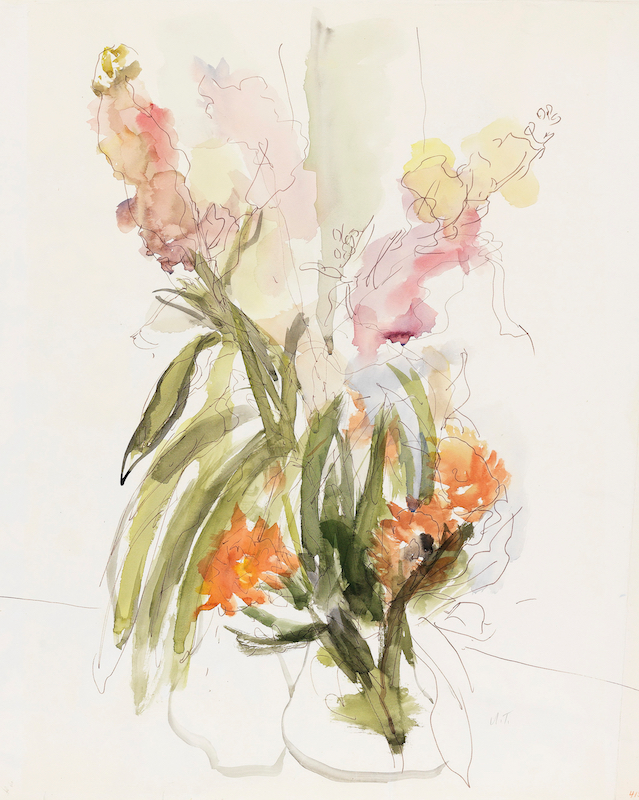 Vase with Red and Yellow Gladioli, 1969~B80_0719